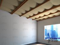 3d model of ceiling materials