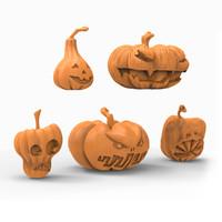 Pumpkin 3D print