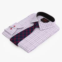 3d model shirt tie
