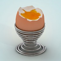 egg nads stand 3d max