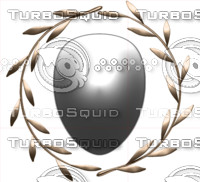 Olive Shield Crest png psd jpeg