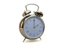 vintage alarm clock 3d max