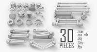 Sci-Fi Mechanical Parts