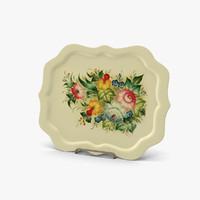 plates flowers milk obj
