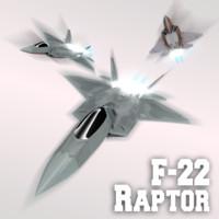 blend f-22 raptor