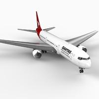 3d 767-300 qantas