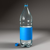plastic bottle 3ds