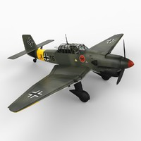 Junkers Ju-87 B-2 Stuka Dive Bomber