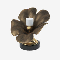 3d candle holder flower model