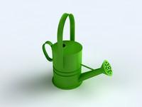 3d model watering