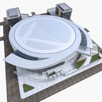 warriors sports build 3d model