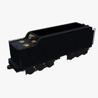 fbx railway coal car