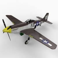 3ds north american p-51 mustang
