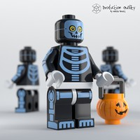maya lego skeleton guy figure