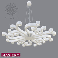 3ds max pendant light masiero virgo