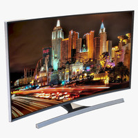 Samsung 4K UHD JU7500 Series Curved Smart TV 55 Inch