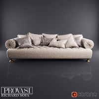 3ds max richard sofa provasi