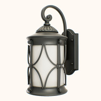 3d obj outdoor lantern