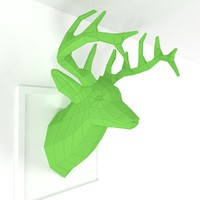 3ds max paper deer