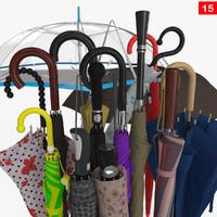 3d umbrella 15