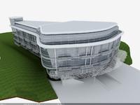 3d model exterior building