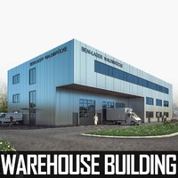 3d model warehouse building