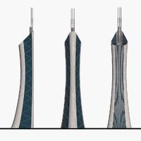 3ds max skyscraper cityscape