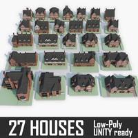 3d 27 houses