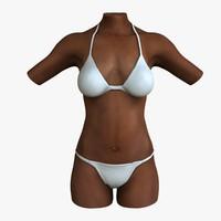 maya female torso african american