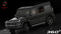 3ds max mercedes-benz g65 amg 2012