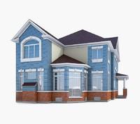 3d house cottage