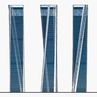3d x eco-friendly skyscraper helicoid