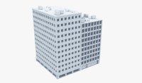 3d model of building office