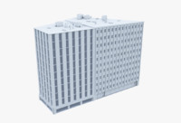 3ds max building office