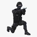 swat 3D models