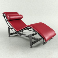 cassina lc4 corbusier lounge 3d max