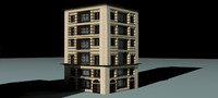 Low-poly Building 8