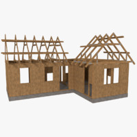 3ds max timber frame building construction