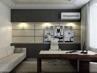 interior scene - cabinet 3d model
