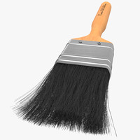 paint brush 2 3d model