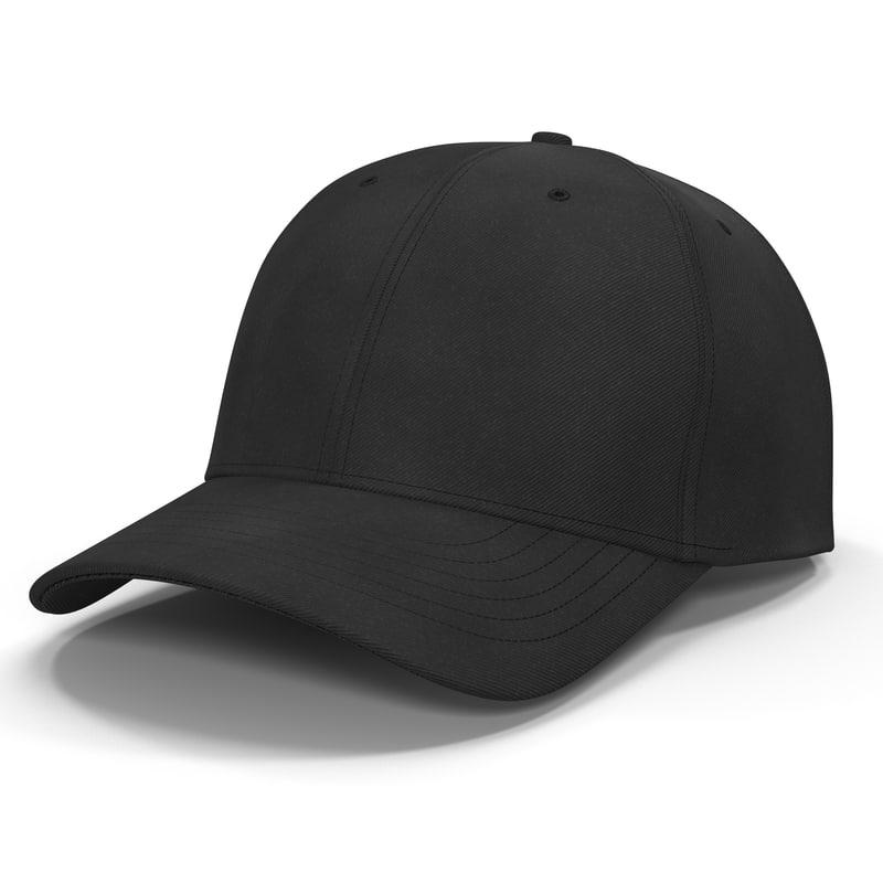 Baseball Hat 3d model 01.jpg
