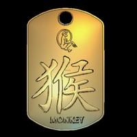 3ds max chinese monkey zodiac sign