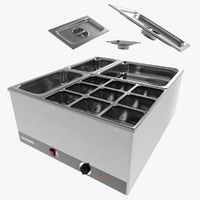 3ds max bain-marie elements
