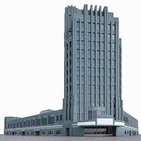 3d model wiltern theatre - pellissier