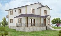 3d villa dublex terrace