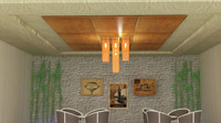 tavan lighting ceiling 3d max