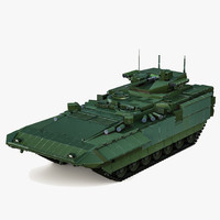 3d model russian infantry fighting vehicle
