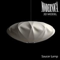 MODERNICA Saucer Crisscross Lamp