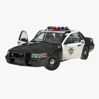 max crown victoria police car