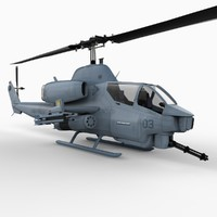Super Cobra Attack Helicopter